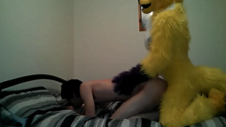 Teen boy fucked by a guy in a mascot costume
