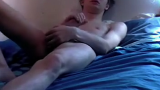 Teen boy enjoying jerking off