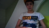 Cute teen boy Omegle.com webcam wanker