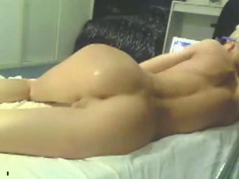 Perfect boy ass + dildo