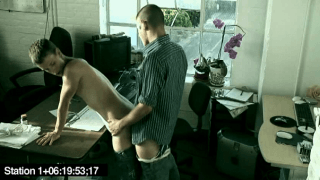 Employees caught fucking at the office by security camera
