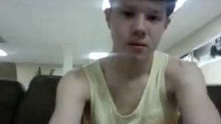 Horny Teen Wanking and Humping the Pillow