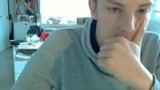 Belgian twink exposes his ass hole and wanks on webcam
